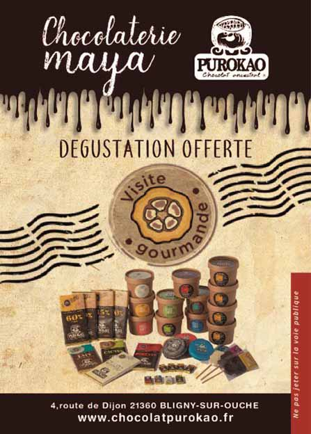 flyers degustation boutique web