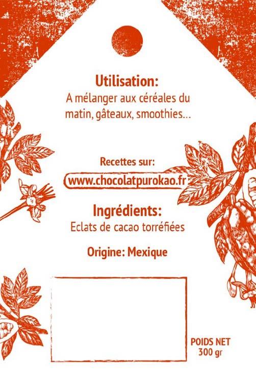 éclats de fèves de cacao torréfiés 2