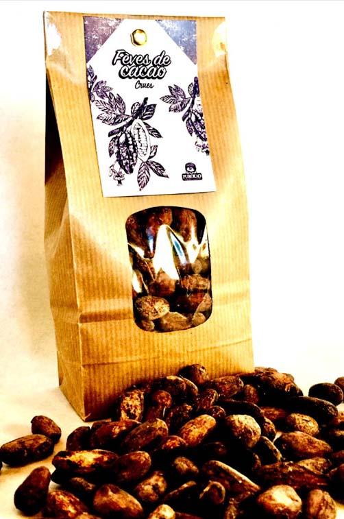 fèves de cacao crues 2