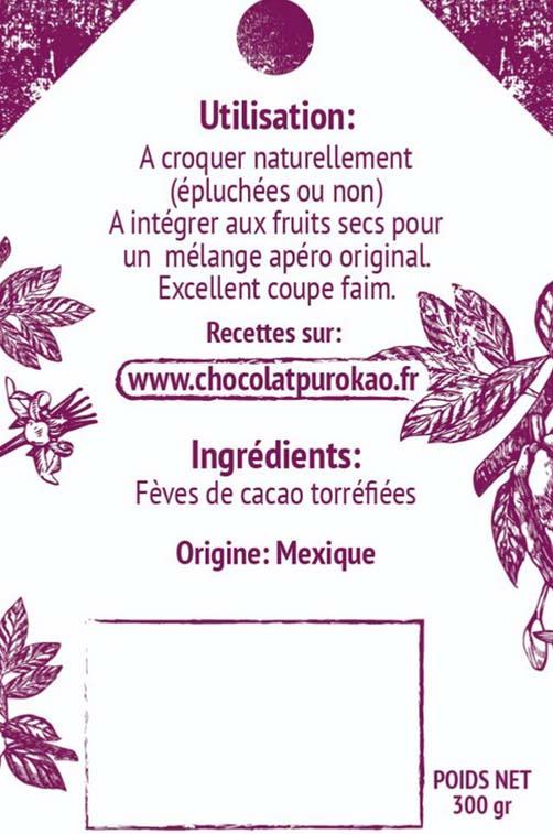 fèves de cacao torréfiées 3
